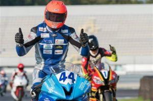 Ricardo Brink motorrace seizoen 2016